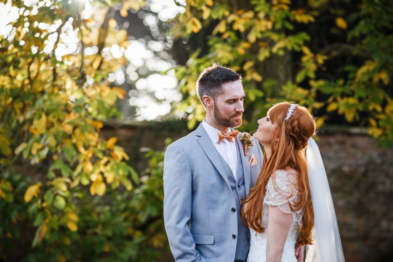 Iscoyd Park wedding in Autumn